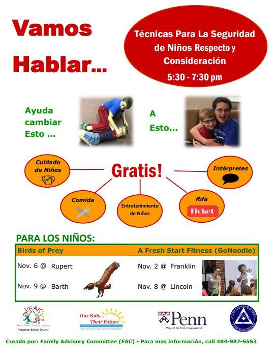 Let's Talk Fall 2017 Flyer Spanish.JPG