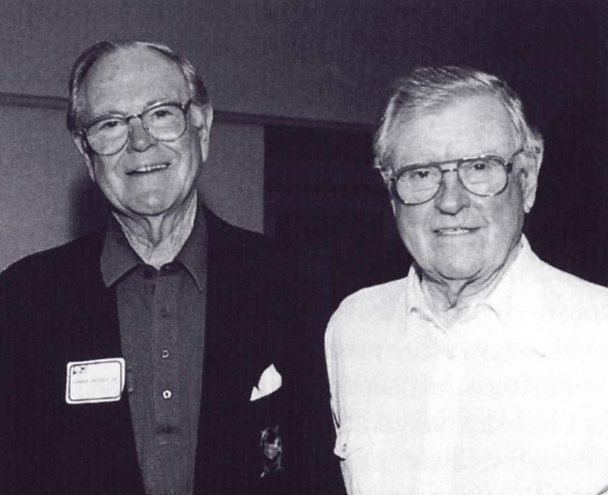John R. Kelsey, Jr., MD, and Mavis P. Kelsey, Sr., MD, - Co-Founders of Kelsey Research Foundation