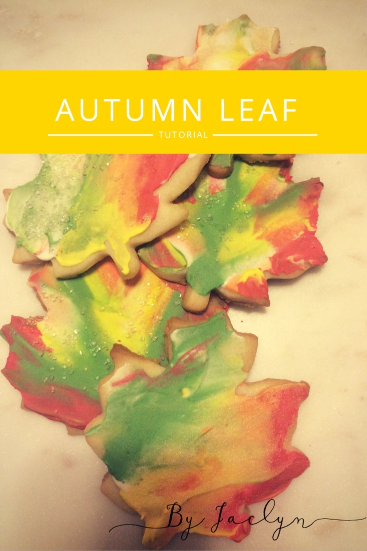 Autumn Sugar Cookie Royal Icing Decorating Tutorial