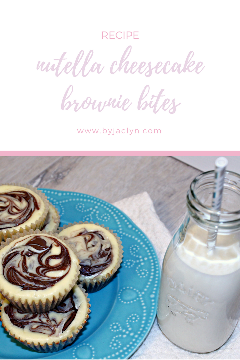 A creamy tart cheesecake swirled with Nutella atop a dense fudge brownie make these Nutella Cheesecake Brownie Bites hard to resist. I dare you to have just one.