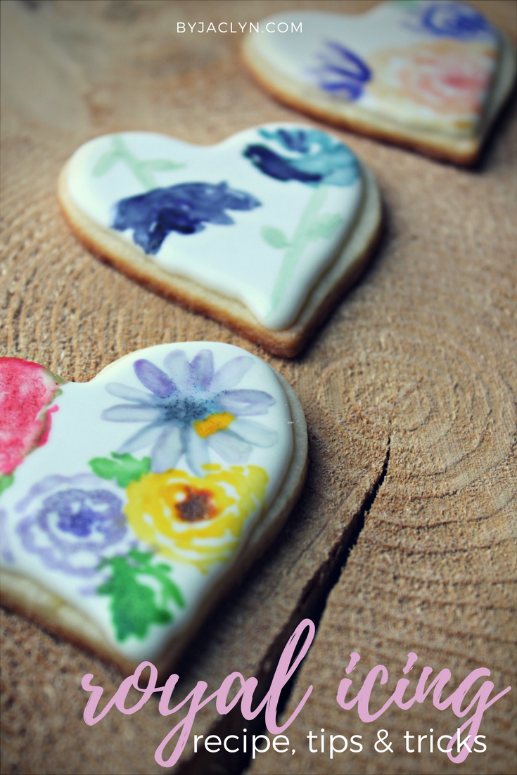 Royal Icing Recipe and Top Tricks & Tips for working with Royal Icing