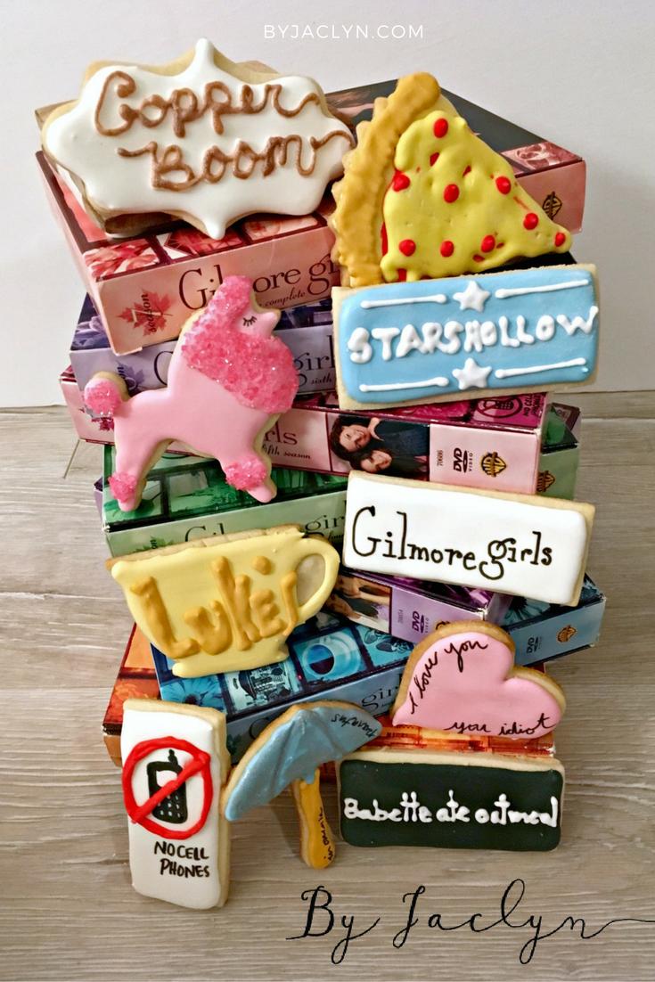 Gilmore Girls Sugar Cookies