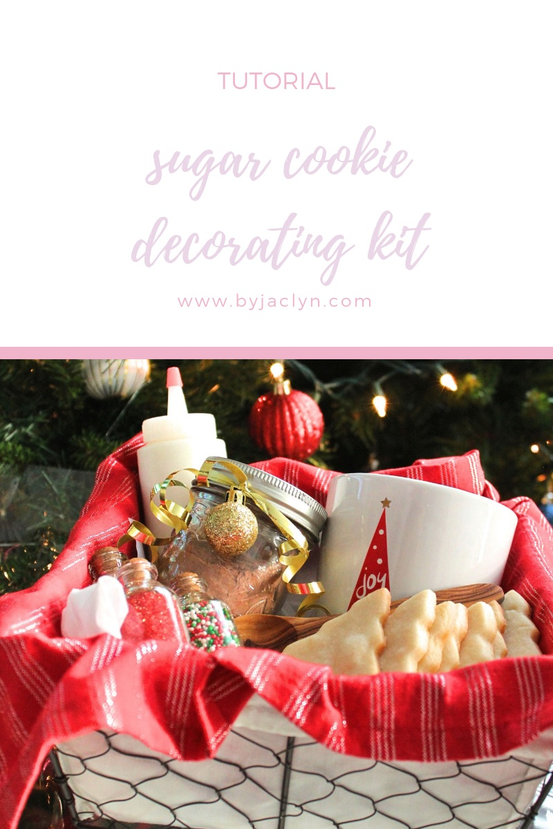 Sugar Cookie Decorating Kit with Homemade Hot Chocolate Mix