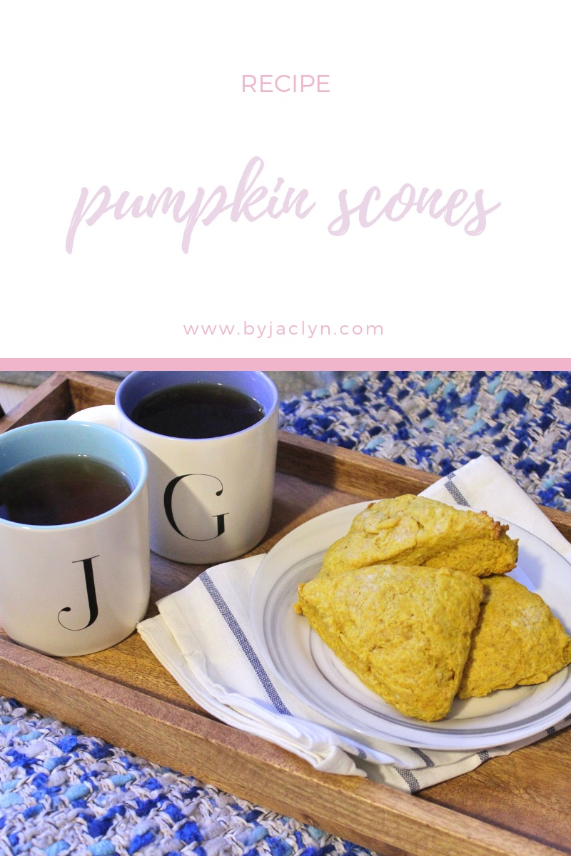 Moist, Quick and Easy Pumpkin Scones