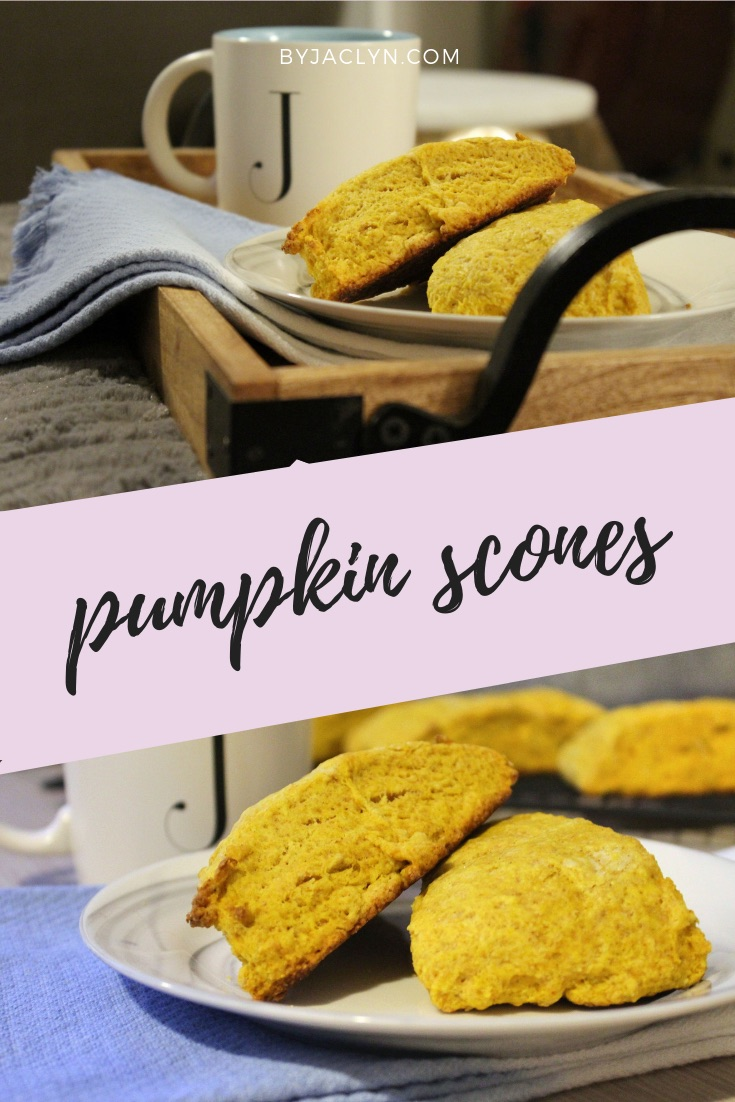 Moist Pumpkin Scones