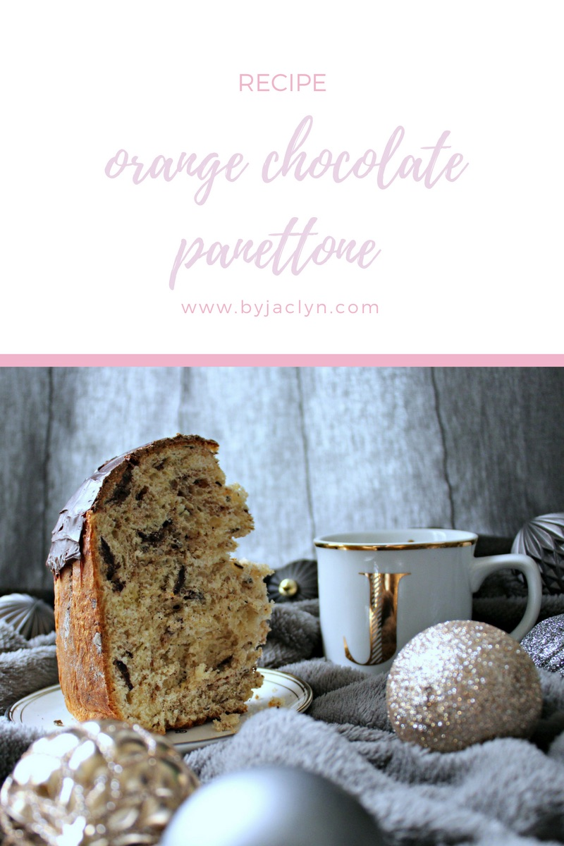 Orange Chocolate Panettone