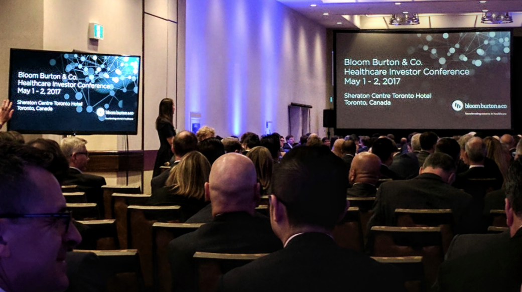 Funding the future: Highlights from Bloom Burton & Co.'s Healthcare Investor Conference. - Summary of the Healthcare Investor Conference, which Samantha attended as media on behalf of the Centre for Commercialization of Regenerative Medicine for Signals Blog.