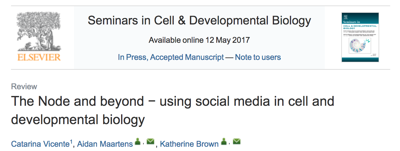 Quoted on how Twitter can be incredibly useful for networking and building a community of open access resources in science.