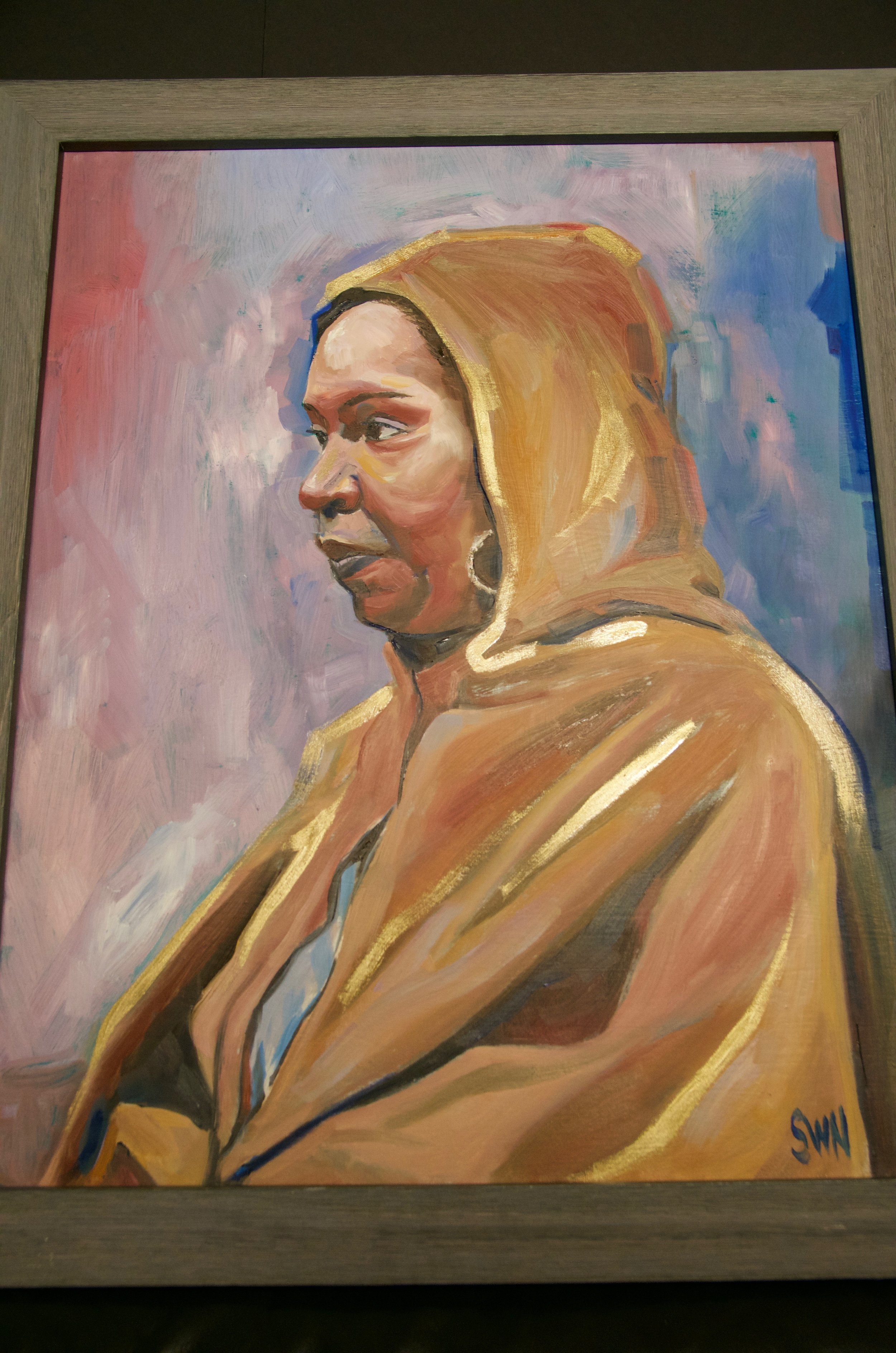 """STACEY WILLIAMS-NG   Oil on canvas 