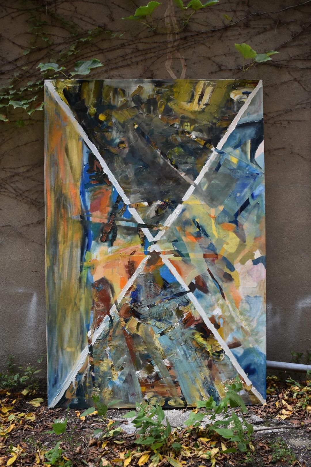 Stefanie Valverde - Oil on canvas. 4'x6'.Value: $24,000 | Minimum bid: $8,500