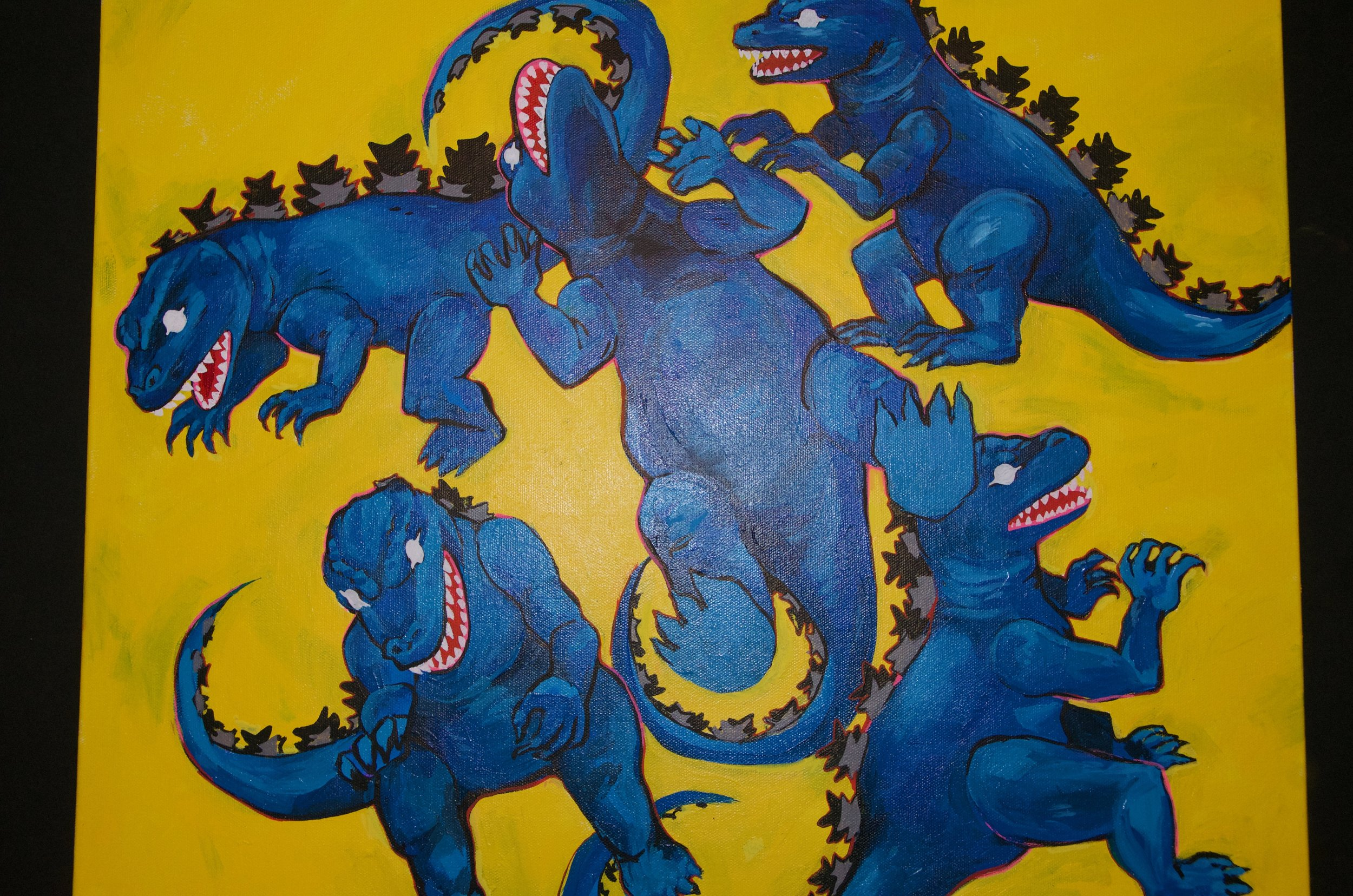 "WHITNEY SALGADO   Acrylic on canvas | 16""x20"" (unframed)   Value:  $325 |  Minimum bid:  $100"