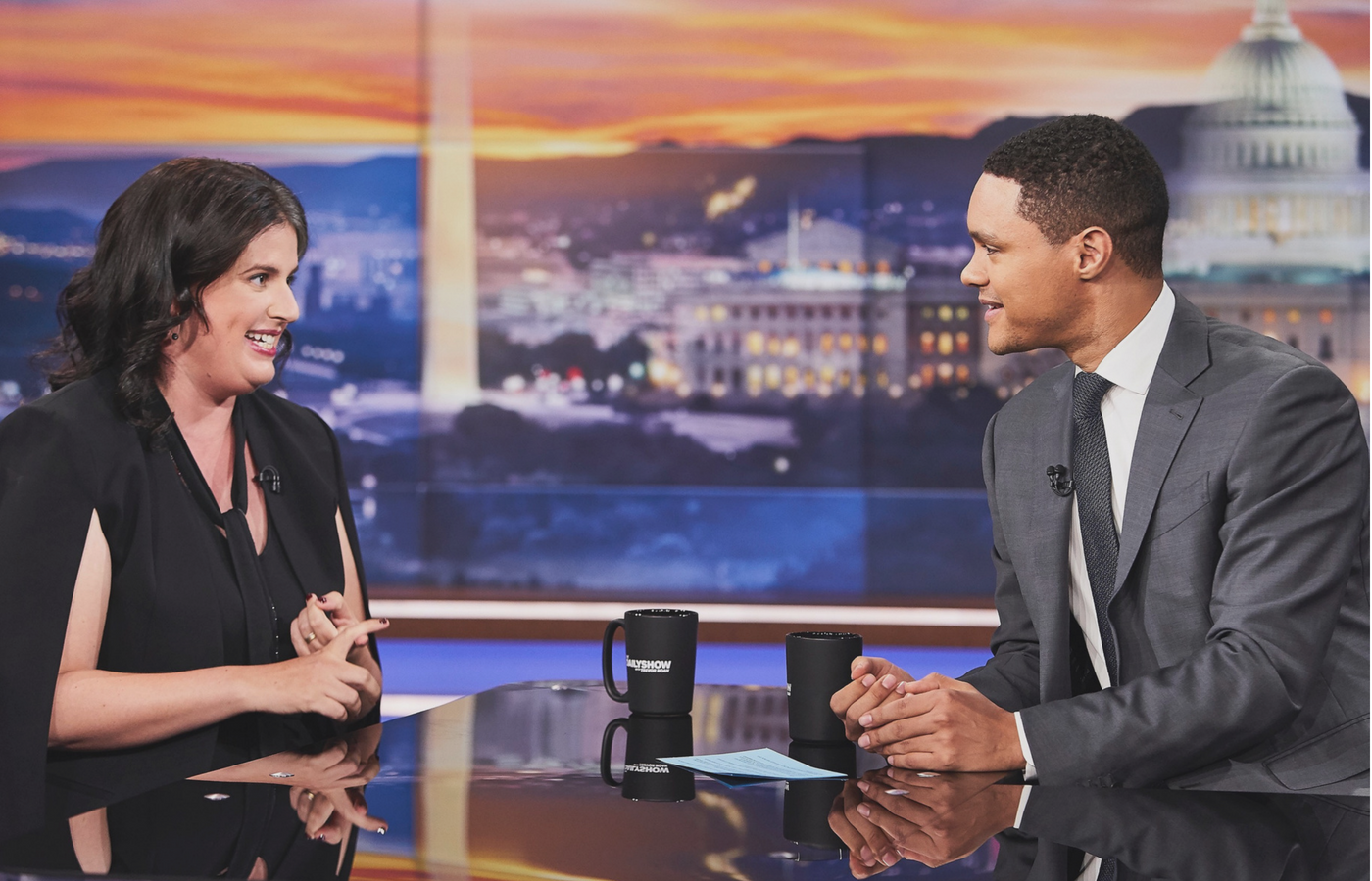 Becca Heller on The Daily Show with Trevor Noah on June 23, 2018