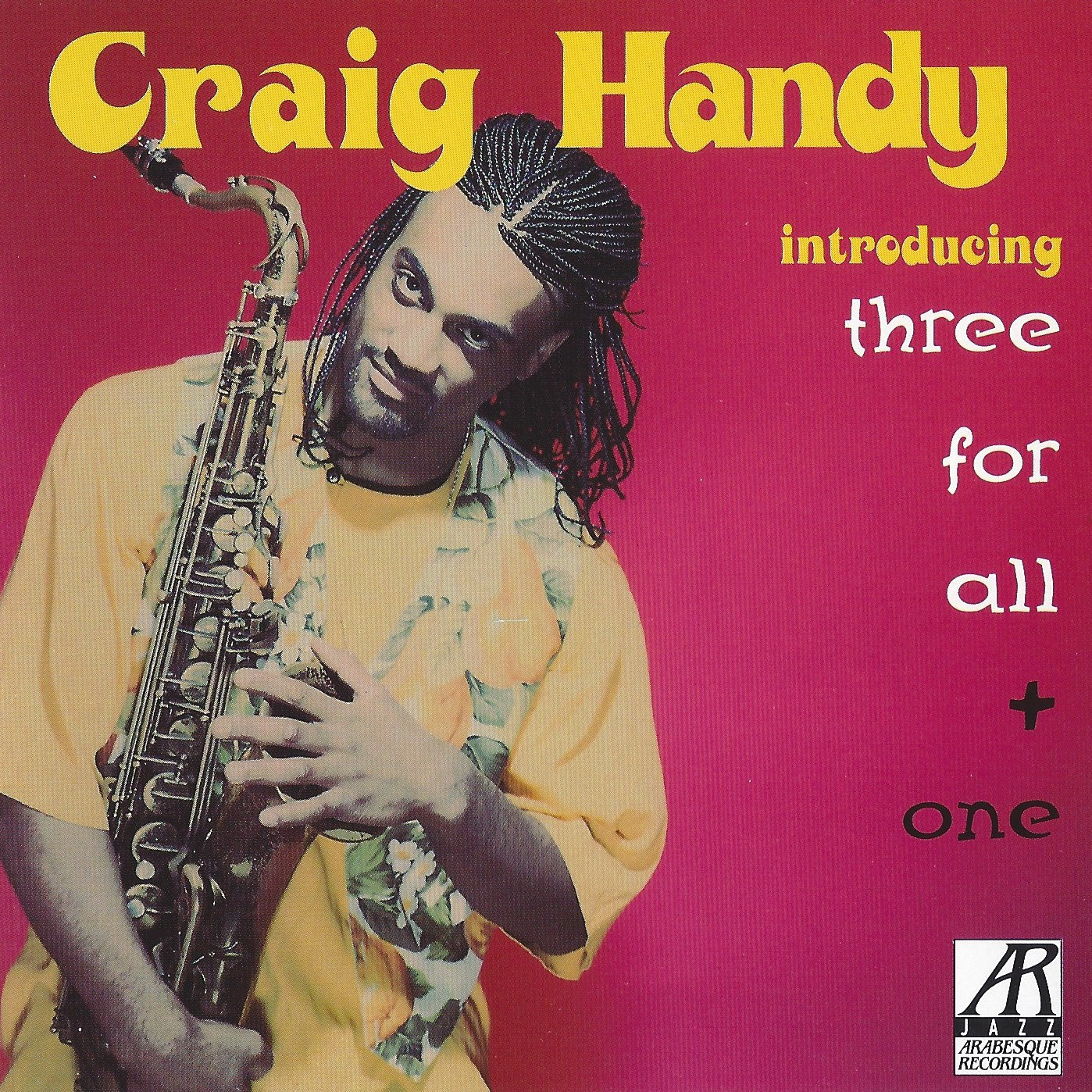 AJ0109 |  Introducing Three For All + One  | Craig Handy