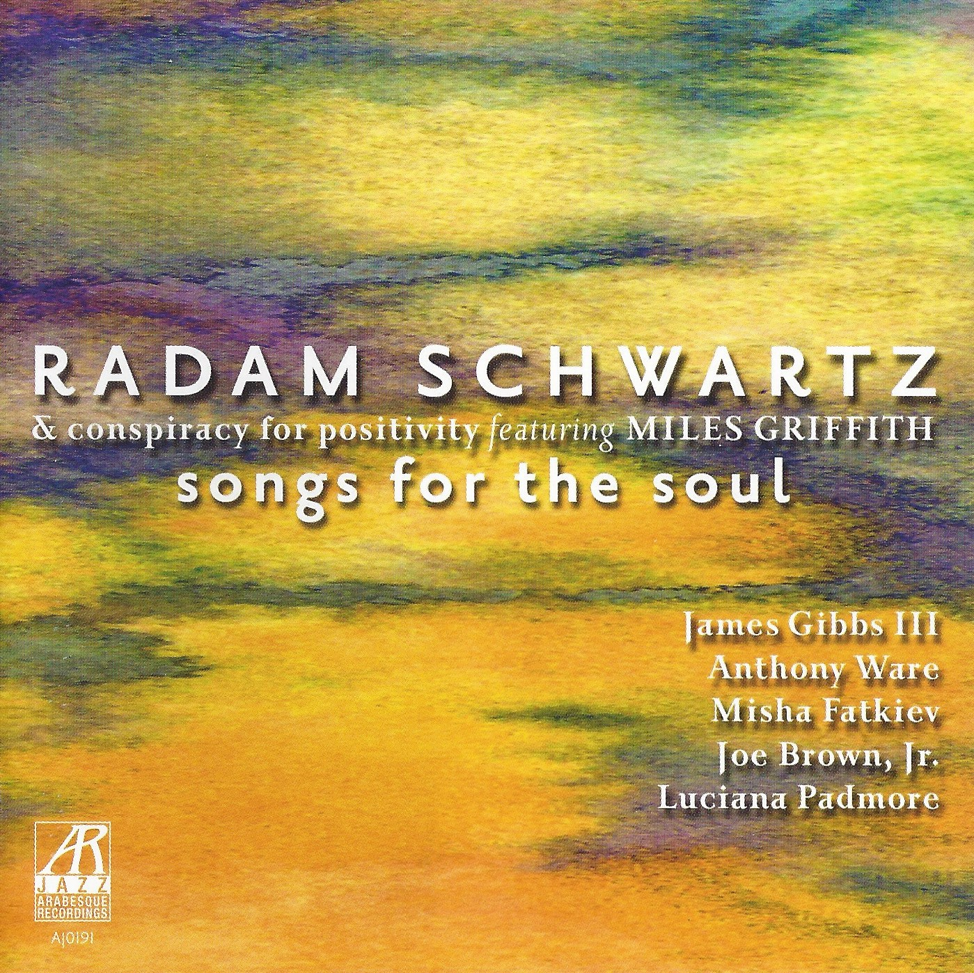 AJ0191  | Songs for the Soul |  Radam Schwartz