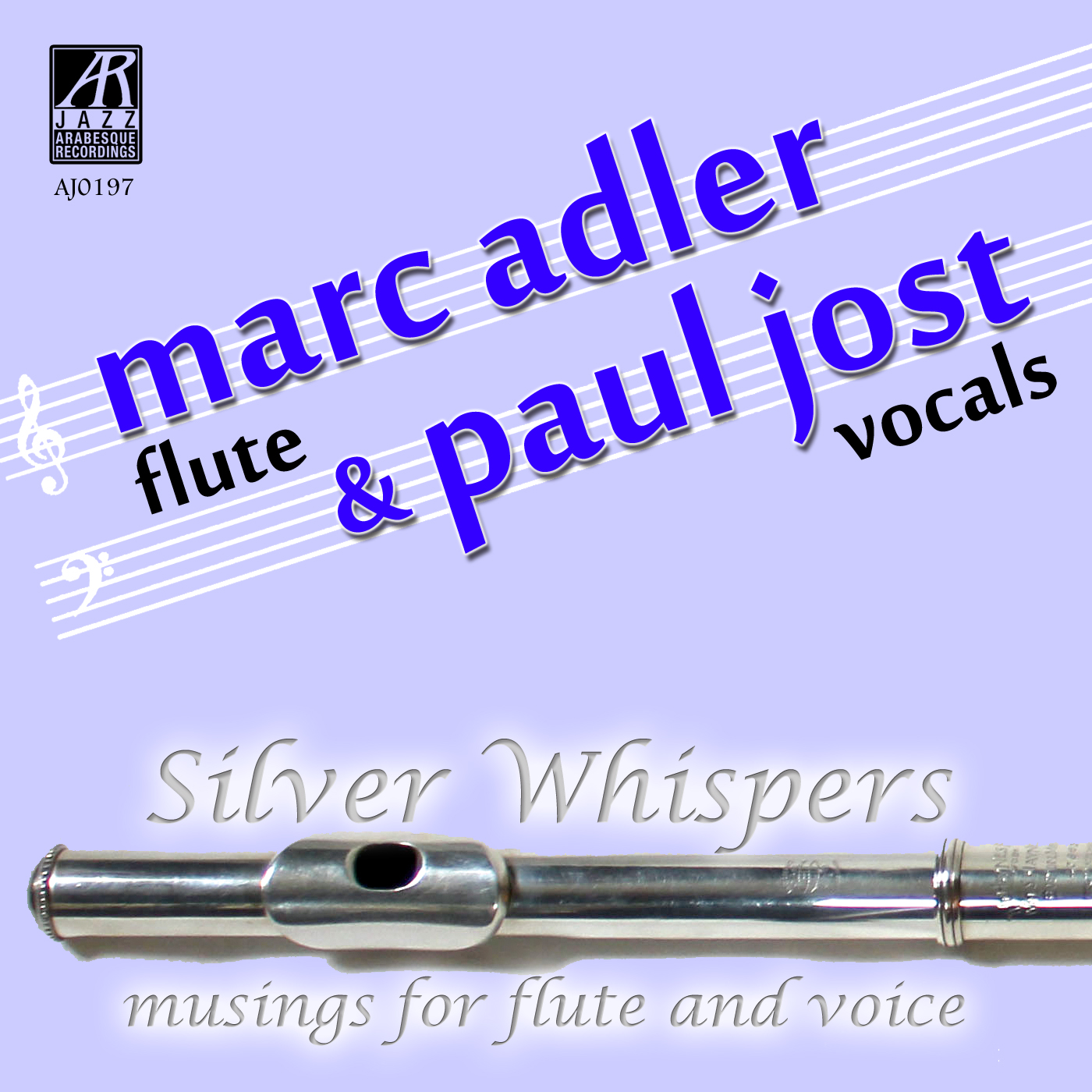 AJ0197  | Silver Whispers: Musings for Flute and Voice |  Marc Alder