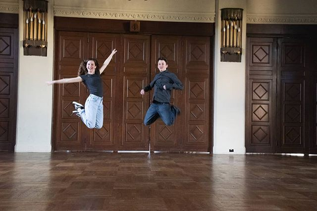 Jumping for joy because it's Saturday!  #saturday #jump #jumping #siblings #familyphotography #bayareaphotography #bayarea #bay #berkeleyphotographer #berkeley #brotherandsister #sisterandbrother #smile #fun #joy #laugh #laughing