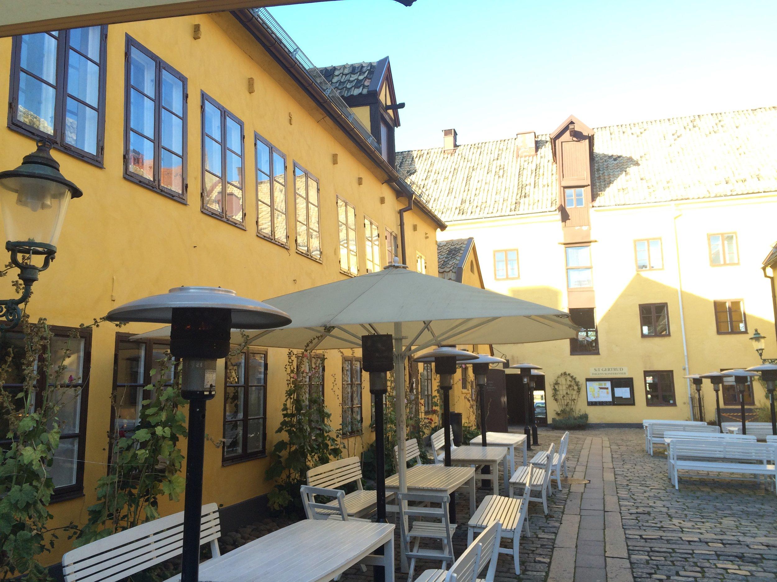 Malmö bjöd på strålande sol och St Gertrud visade sig från sin bästa sida.