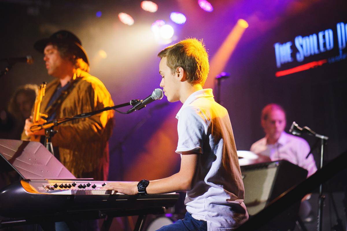 jonah, pianist/singer/songwriter - age 15