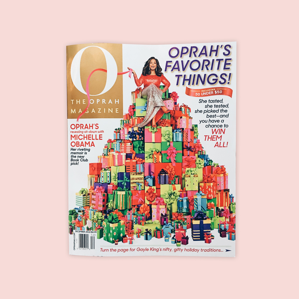 Oprah Magazine - Dec 2018