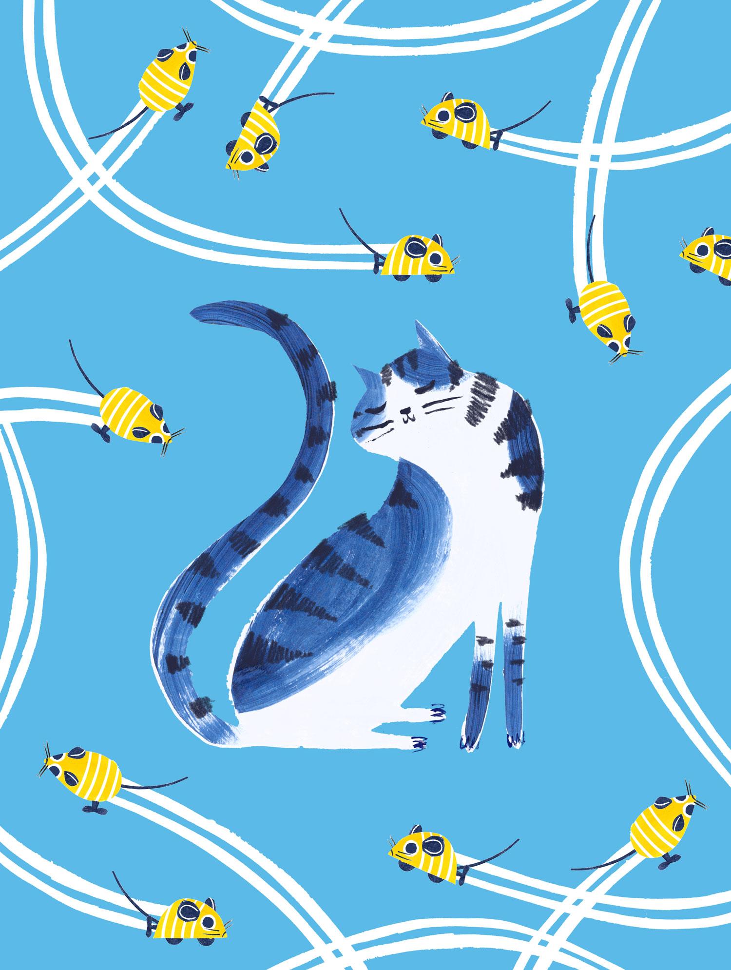 penelope dullaghan illustration for Hill's Pets