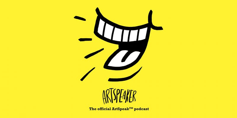 ArtSpeaker Podcast interviews Penelope Dullaghan