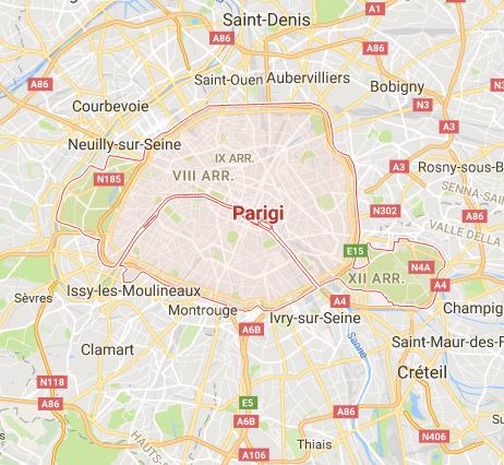 PARIGI.   Parce que.
