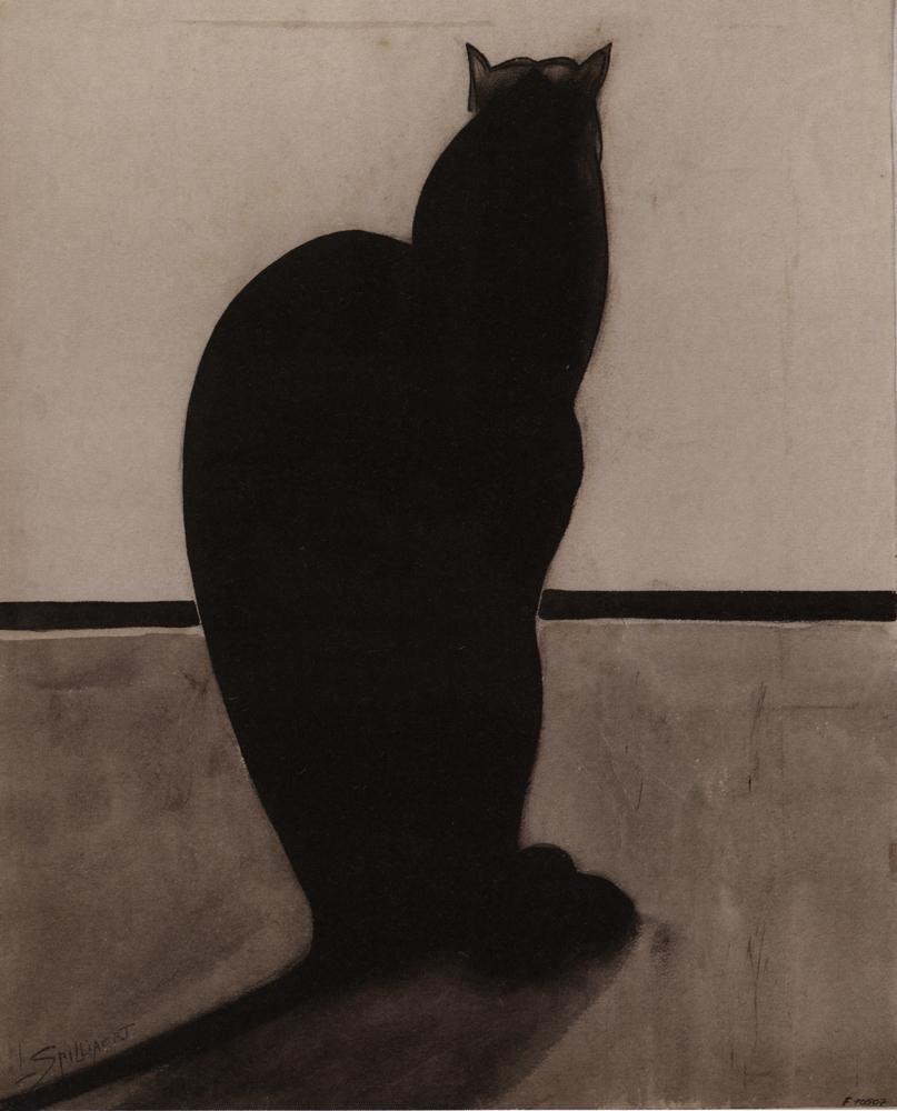 1910, Leon Spilliaert, Le chat.jpg