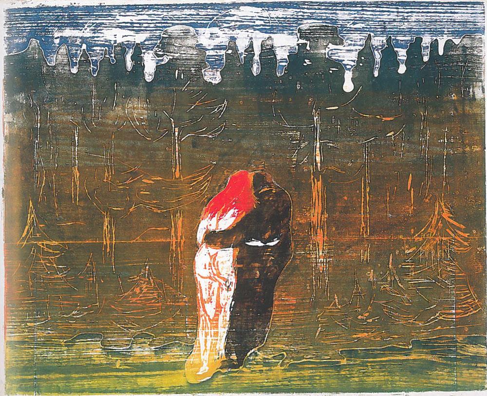 1915, Edvard Munch, Towards the Forest.jpg