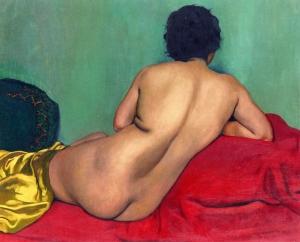 1925, Felix Vallotton, Nude from behind.jpeg