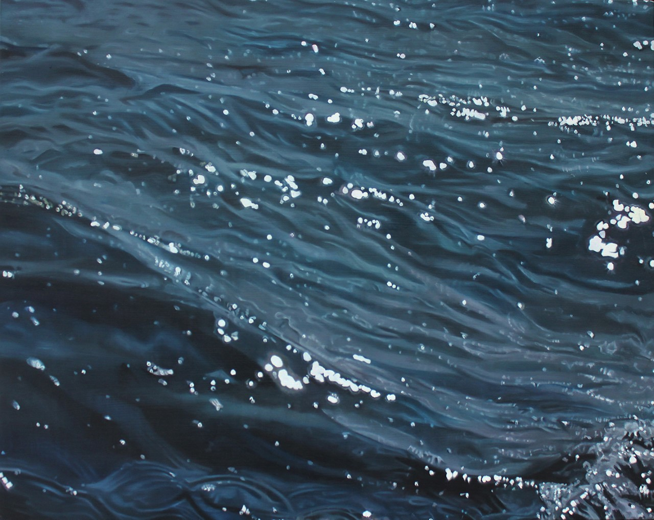 """The Adriatic Glistens""   Oil on wood panel, 16"" x 20""   *Available - Price on request"