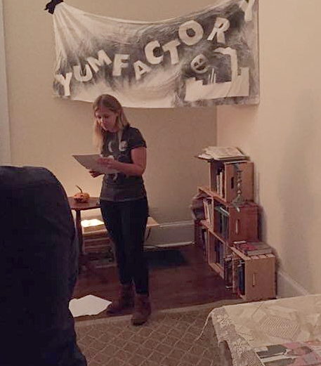 Reading from Helen or My HungerYumfactory Series - Athens, GA 201