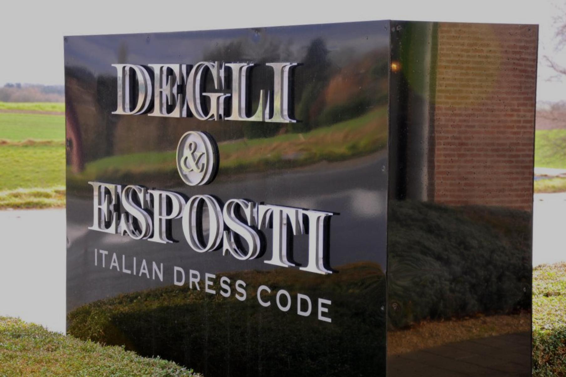 DEGLI&ESPOSTI - Chaussée de Louvain 2751410 Waterloo, BelgiumT. +32 (0)2 351 83 01