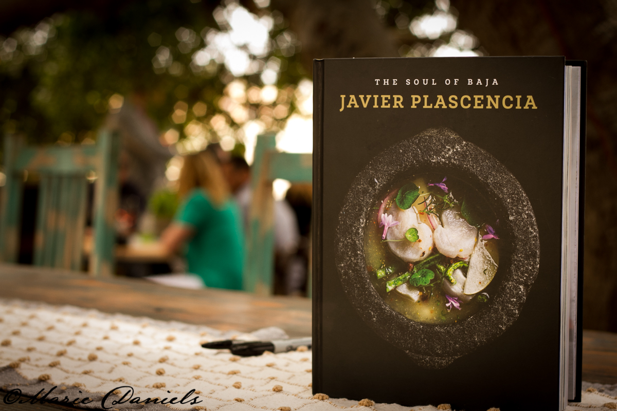 Chef Javier Plascencia presents the flavors of Baja in each of his recipes.