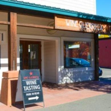 Free wine at Wine Guerilla in Forestville