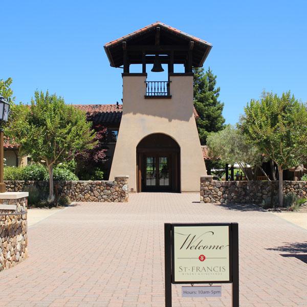 St. Francis Winery Sonoma Kenwood