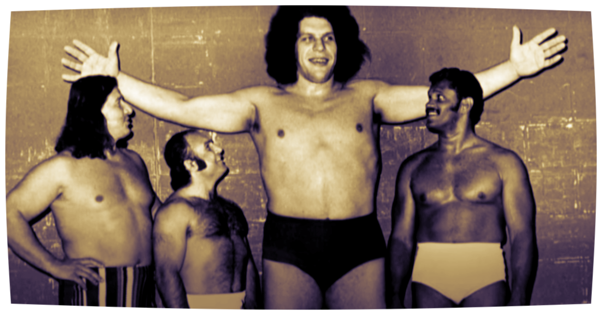 """CREDIT: """"ANDRE THE GIANT"""" DOC"""
