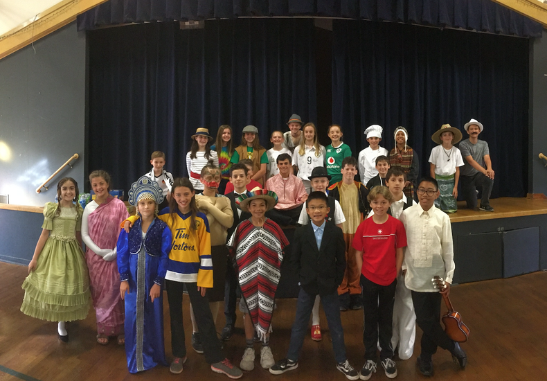 6th Grade International Fair