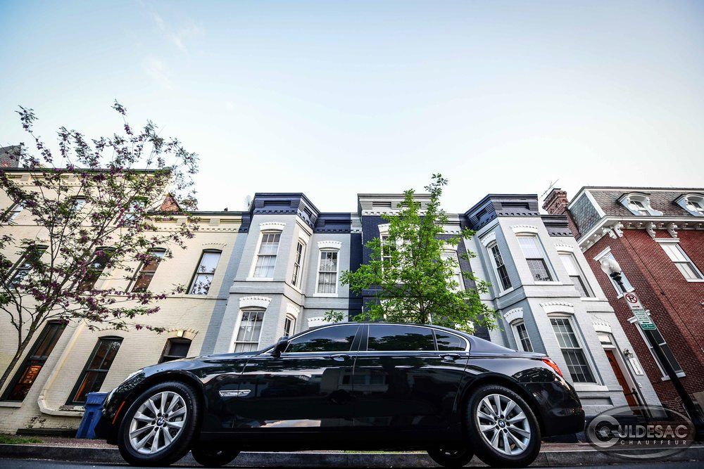 BMW Limo in Georgetown Washington DC
