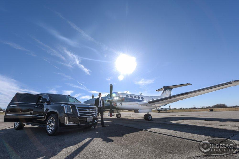 Washington DC Private Jet Transportation Cadillac Escalade