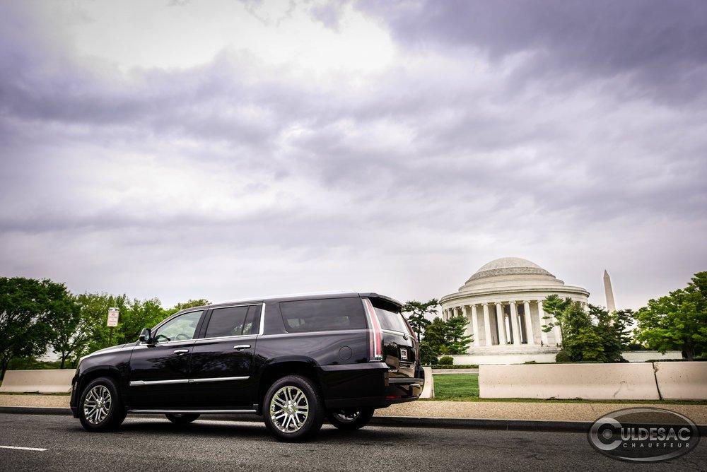 Bulletproof Cadillac Escalade Washington DC