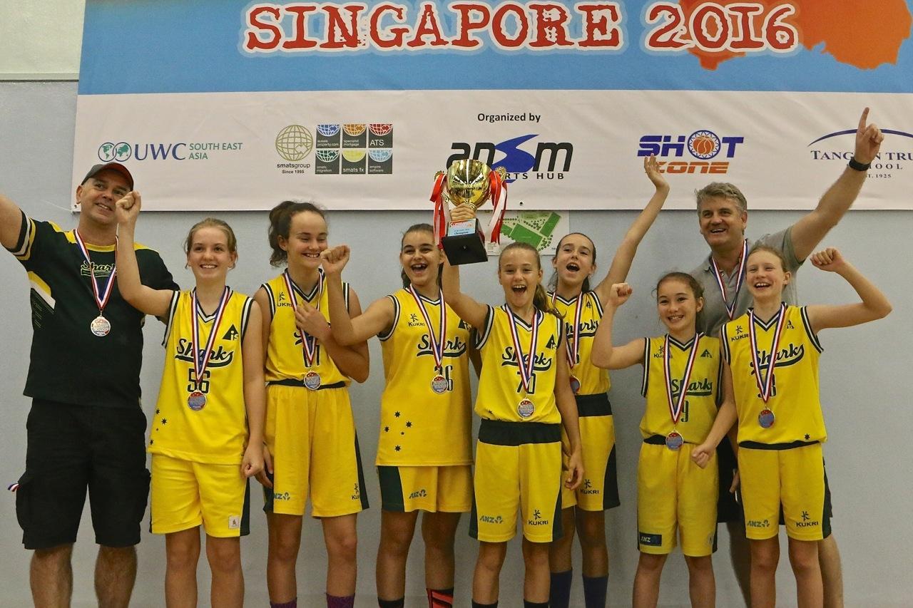U13 Girls Champions - Sharks BC
