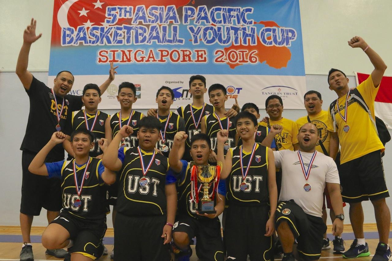 U13 Boys Champions - UST Manila