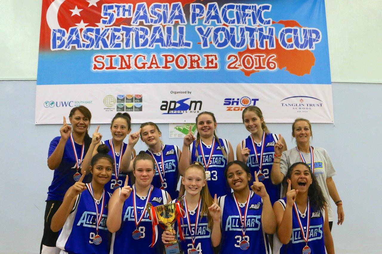 U15 Girls Champions - ADU Gold Coast