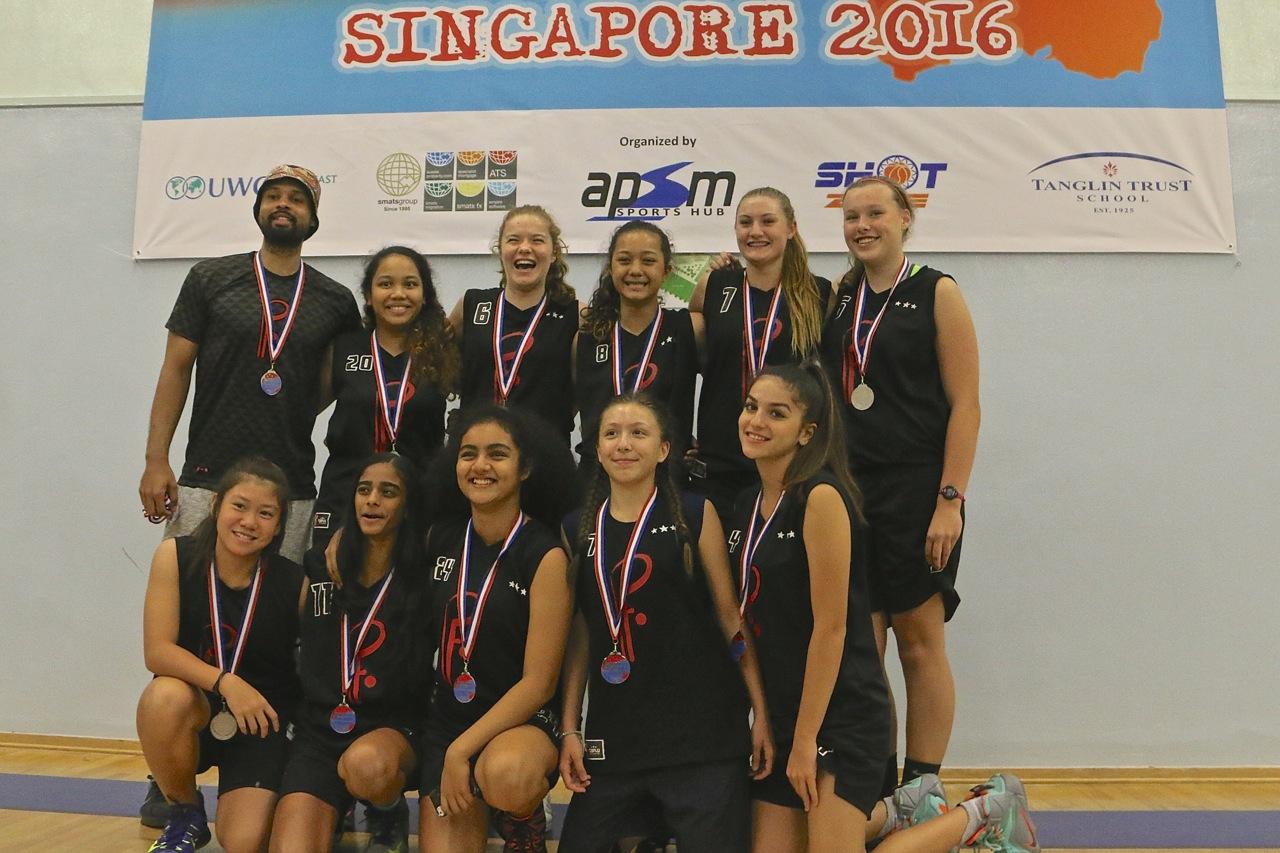 U15 Girls 2nd Place - Profrom Singapore
