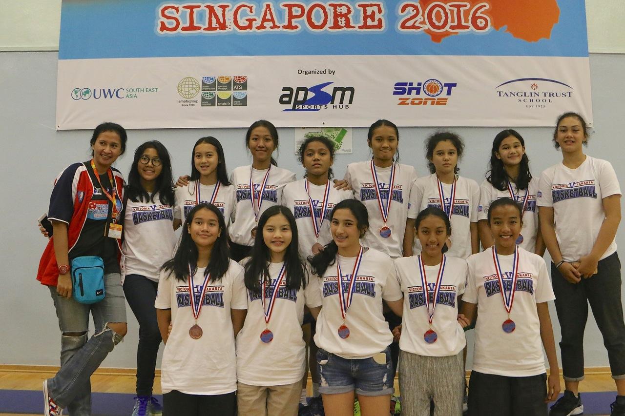 U15 Girls 4th Place - Victoria Basketball