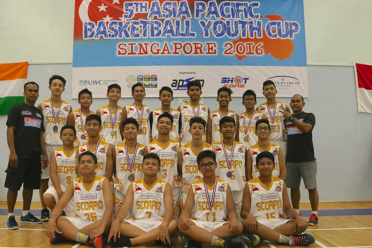 U15 Boys 2nd Place - Scorpio BC Indonesia