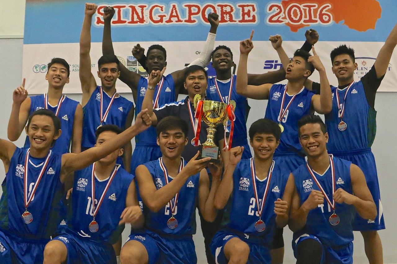 U18 Boys Champions - Traill International Bangkok