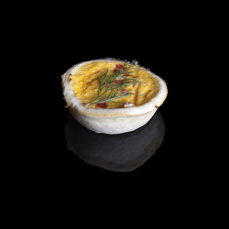 Mini Vegetarian Quiche (V)
