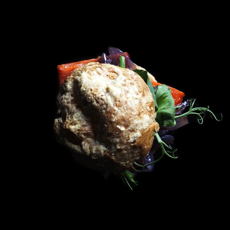 Roast Vegetable Gougere (V)