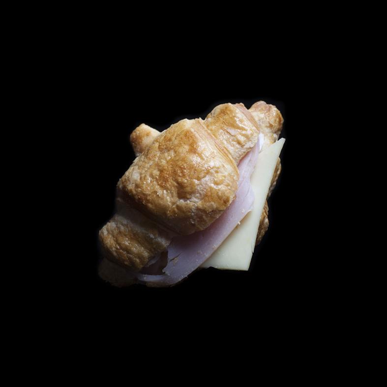 Mini Ham & Cheese Croissant ($4)